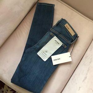 NWT GRLFRND denim Candice skinny jeans